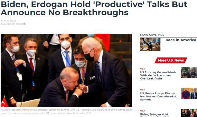 Batı medyası, Erdoğan ve Biden'ın tokalaştığı anları böyle çarpıttı - Resim: 4