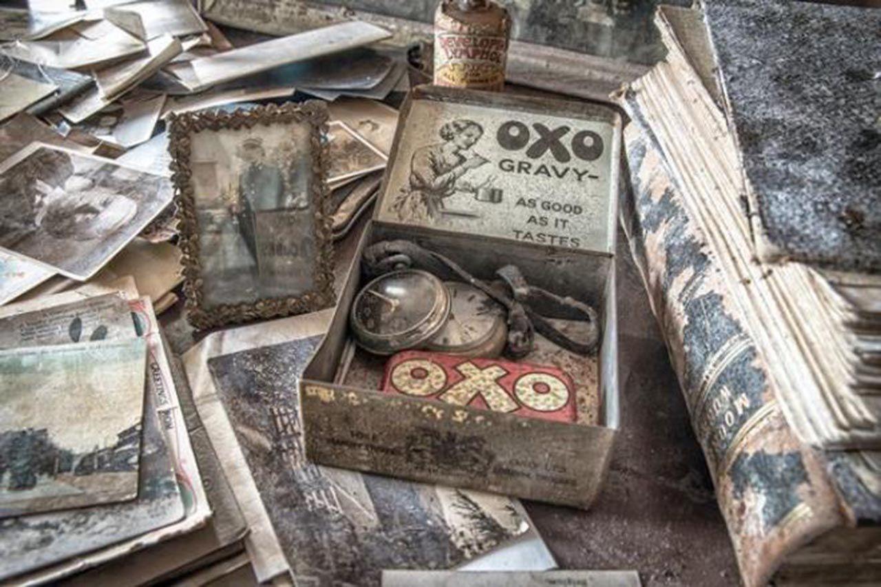 100 yıl önce terk edilen evin içinden şaşırtan fotoğraflar - Resim: 3