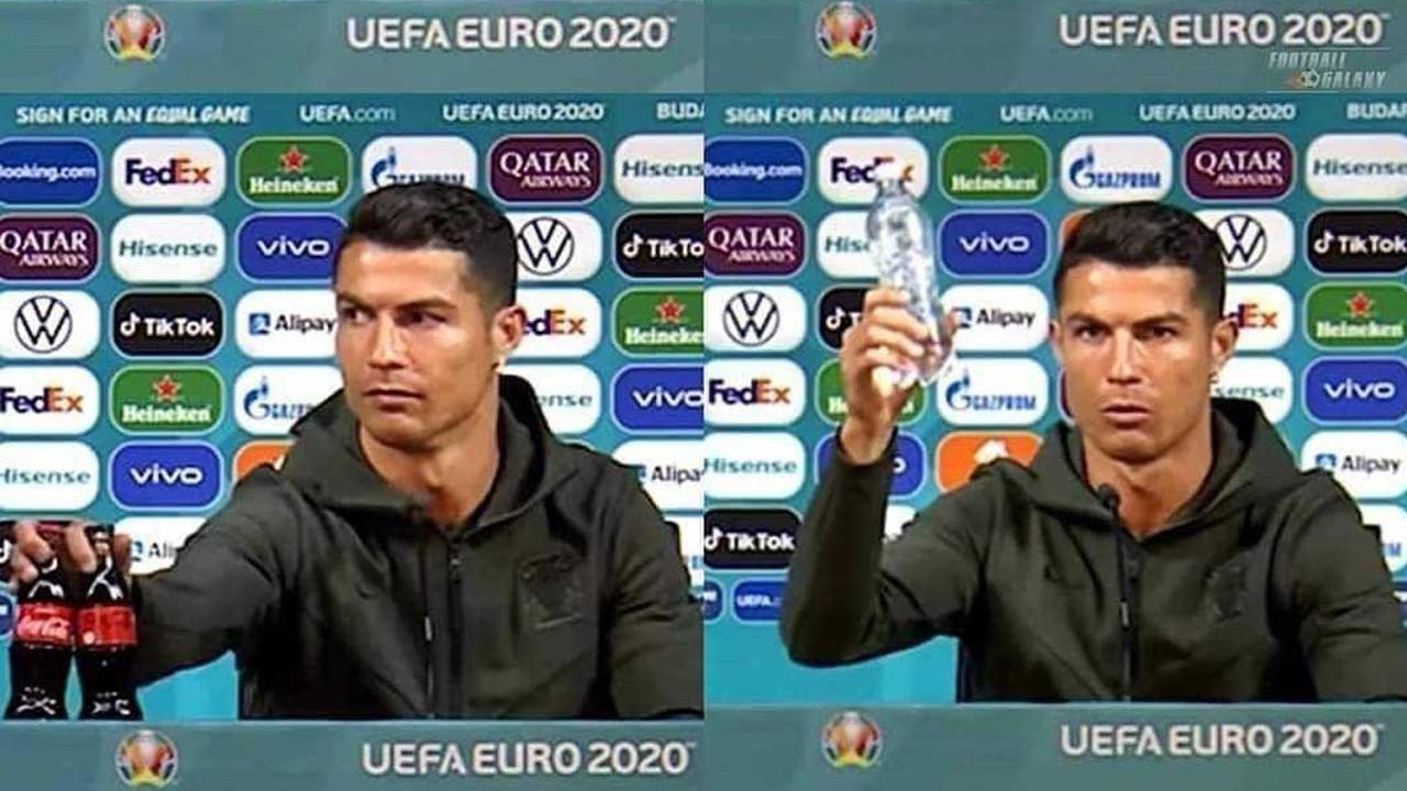 Ronaldo bu sefer gölü sponsora attı! 4 milyar dolara patladı