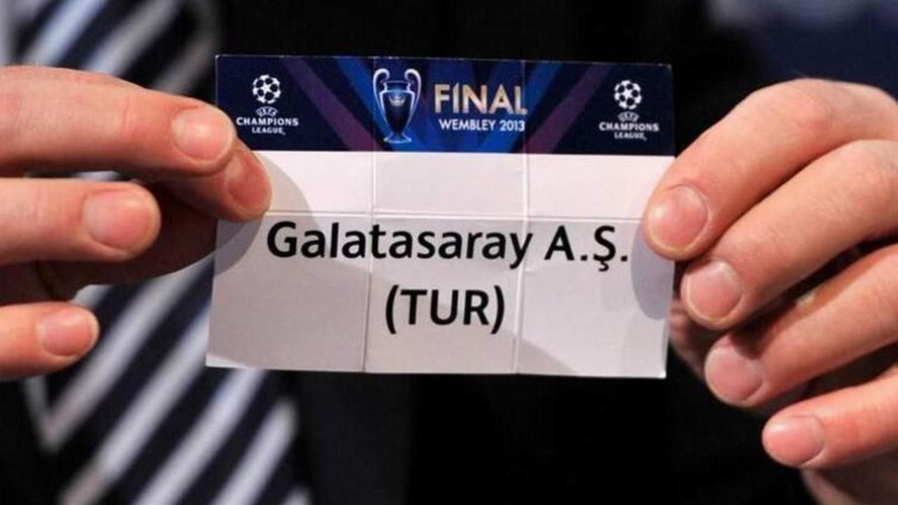 Galatasaray'ın Şampiyonlar Ligi ön eleme rakibi belli oldu