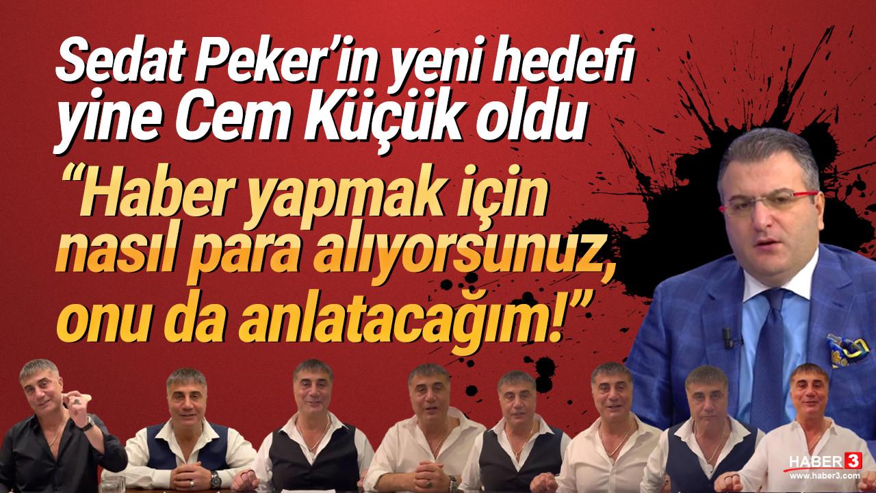 Sedat Peker'den yeni paylaşım! Hedefinde bu sefer yine bir gazeteci var