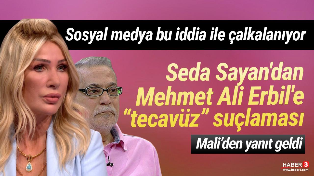 Seda Sayan'ın tecavüzle suçladığı Mehmet Ali Erbil'den ilk açıklama