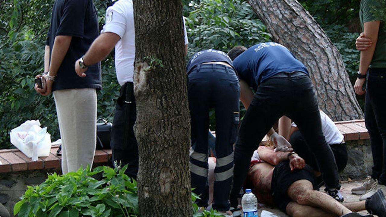 Maçka Parkı'ndaki saldırgana tahliye