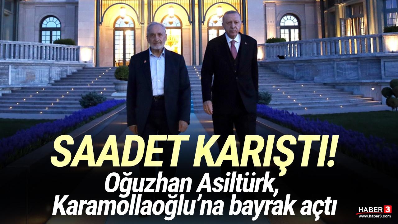 Saadet Partisi karıştı: Oğuzhan Asiltürk, Karamollaoğlu'na bayrak açtı
