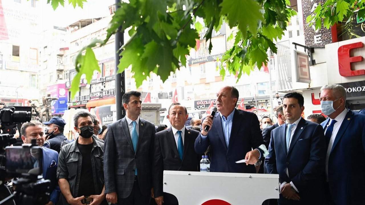 Muharrem İnce'den Erdoğan'a: ''Bence doktora görünmeli''