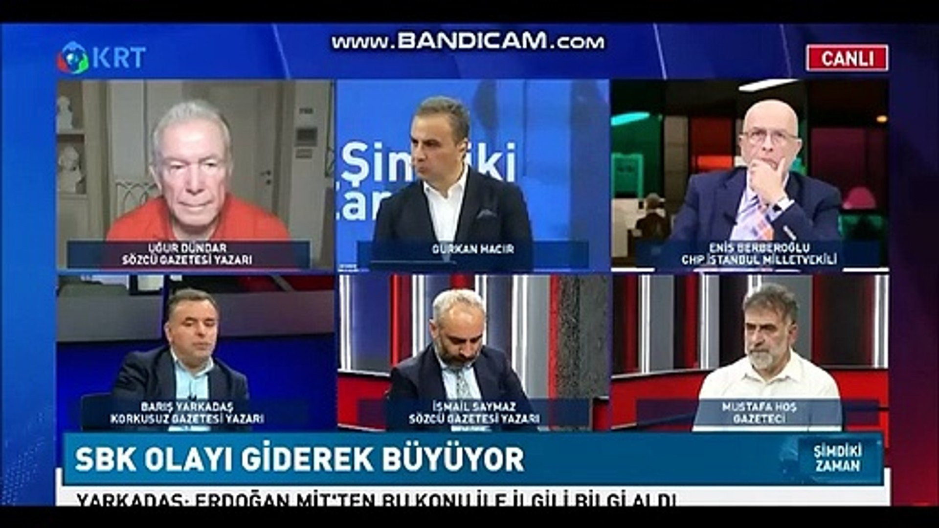 Canlı yayında olay iddia: ''Erdoğan, Soylu'nun üstünü çizdi''