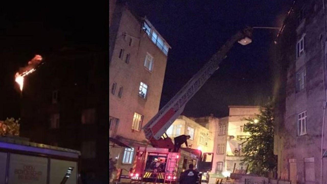 Eşiyle tartıştı, 5 çocuğunun olduğu evi ateşe verdi!