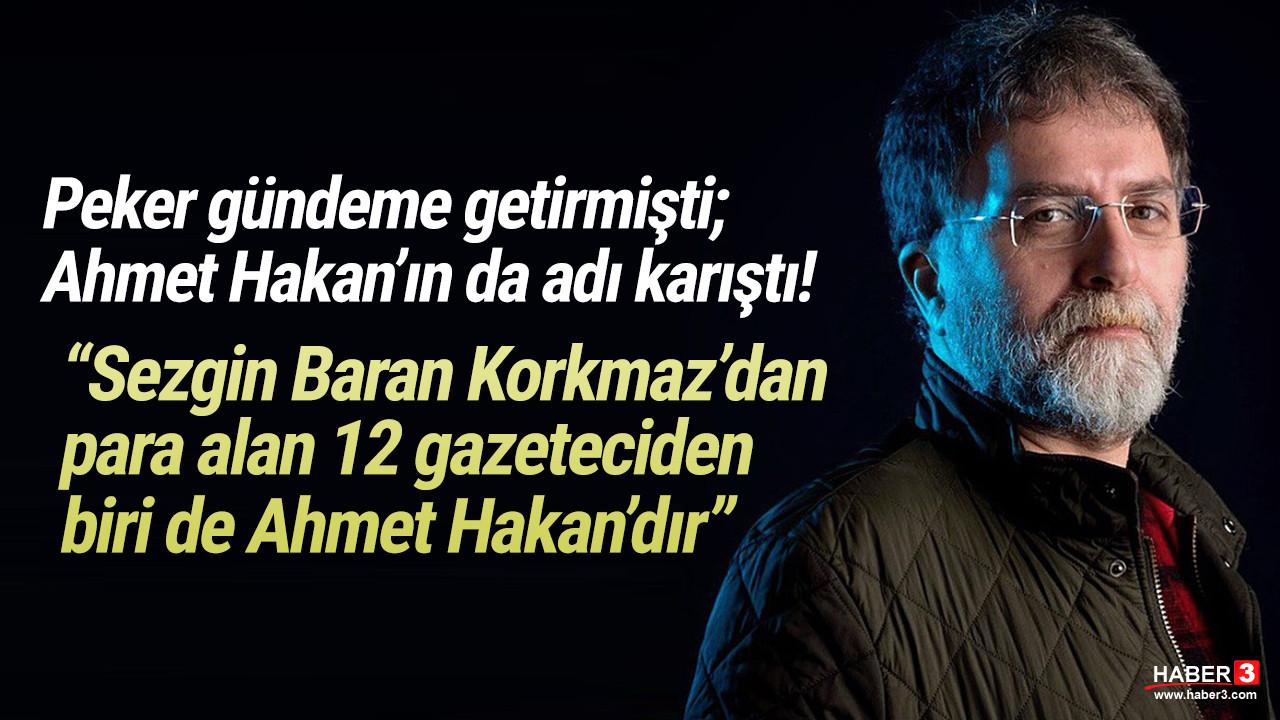 Ahmet Hakan'la ilgili dikkat çeken Sezgin Baran Korkmaz iddiası