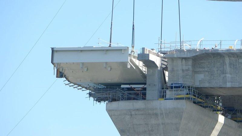 Dev projede yeni aşamaya geçildi! Tam 700 ton ağırlığında