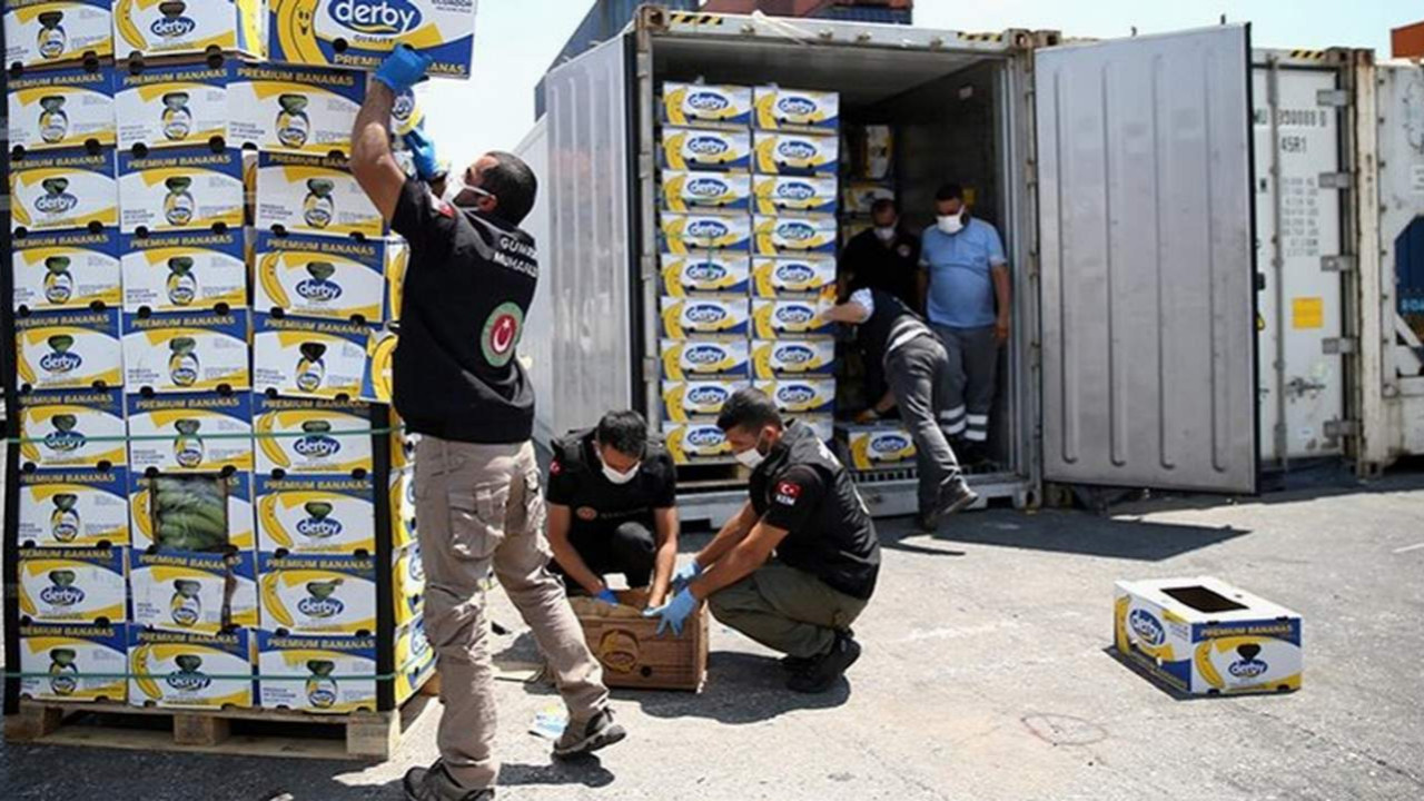 Mersin Limanı'nda 150 kilo kokain daha