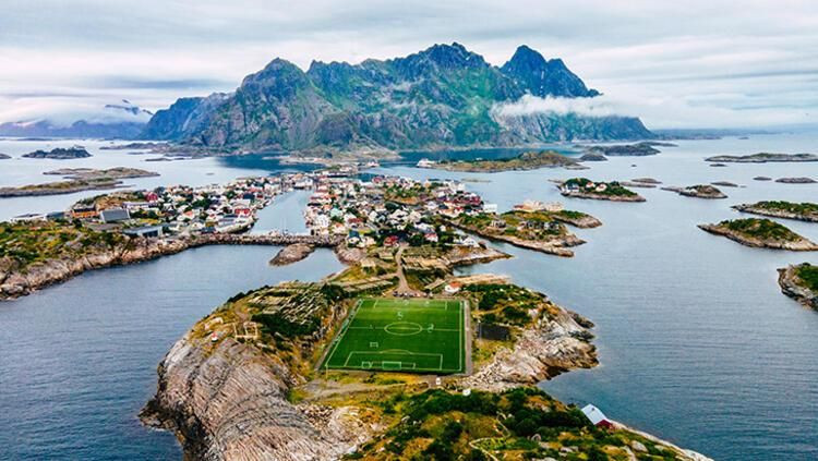 İşte dünyanın en güzel manzarasına sahip stat! - Resim: 1