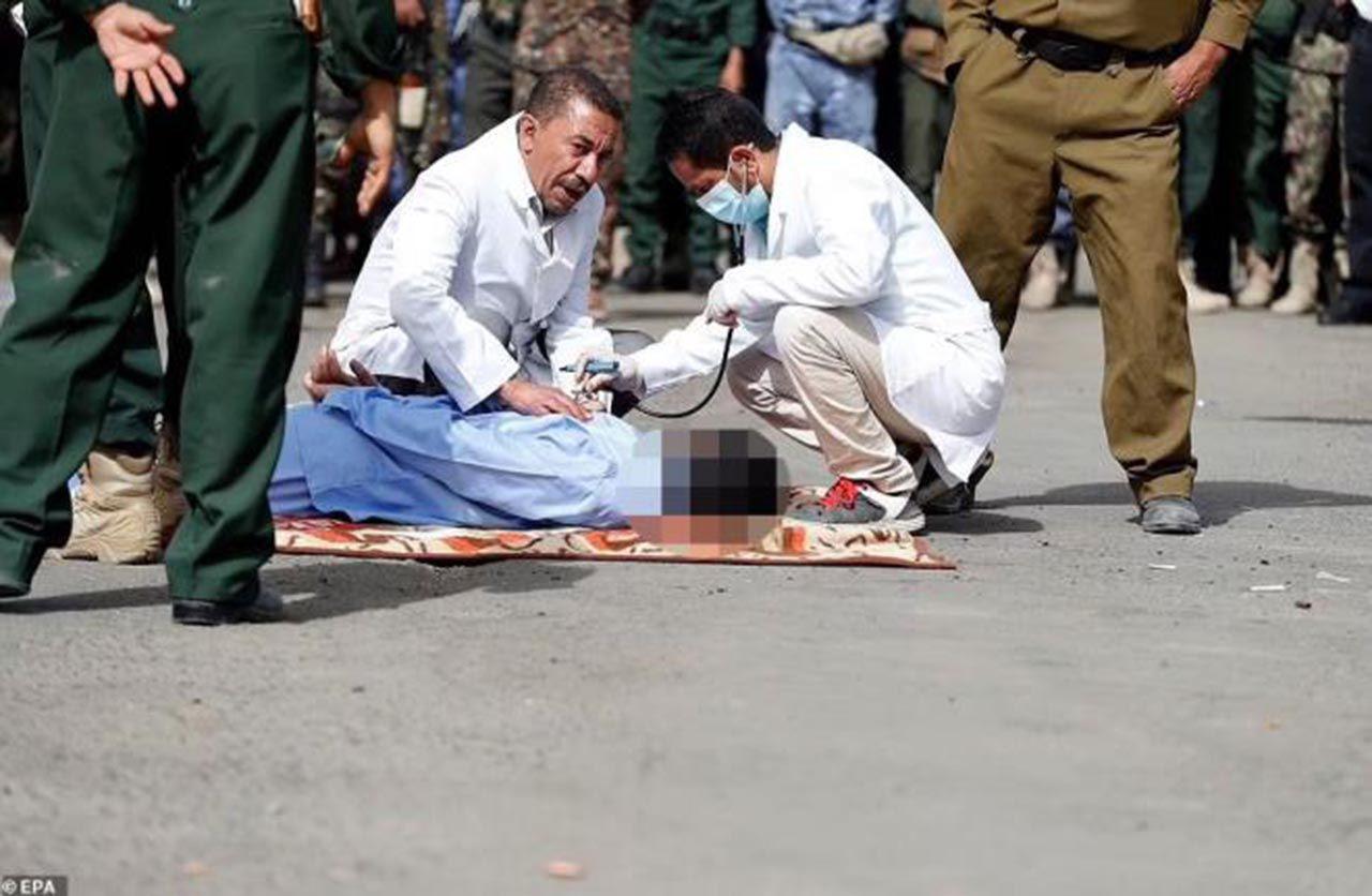 Tecavüzcü katiller herkesin gözü önünde idam edildi - Resim: 3