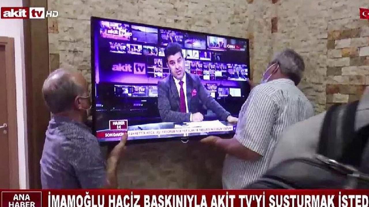 İmamoğlu'na kazandığı tazminatı ödemeyen AKİT TV'ye haciz
