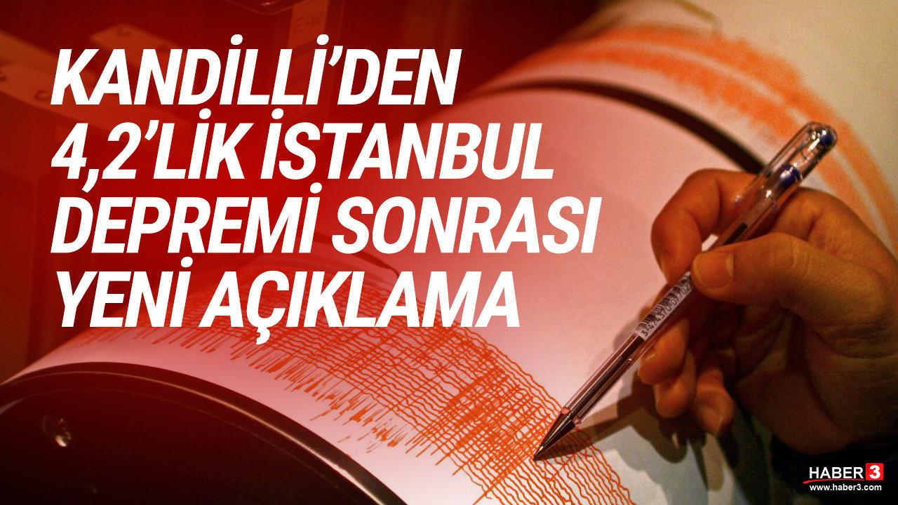 Kandilli Rasathanesi'nden İstanbul depremi için yeni açıklama