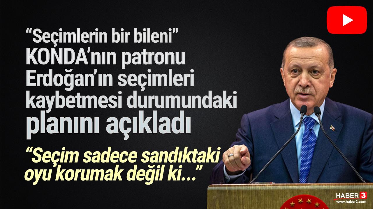 KONDA'nın patronu açıkladı: Erdoğan seçimi kaybederse...