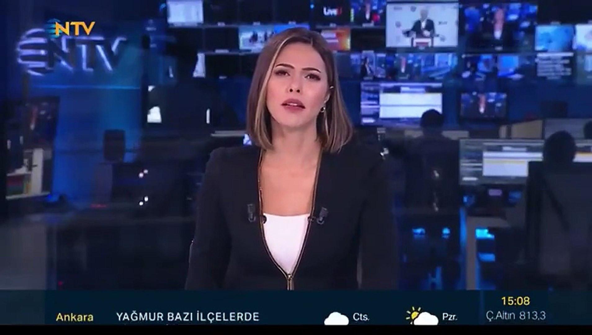 Canlı yayında zor anlar! NTV spikeri depreme canlı yayında yakalandı