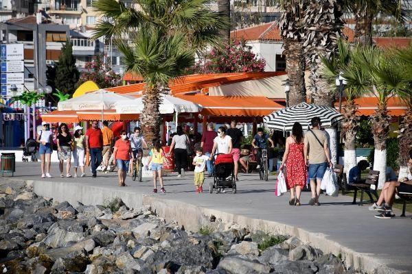 Türkiye'nin tatil cennetine akın: 1 günde 10 binden fazla araç geldi - Resim: 3