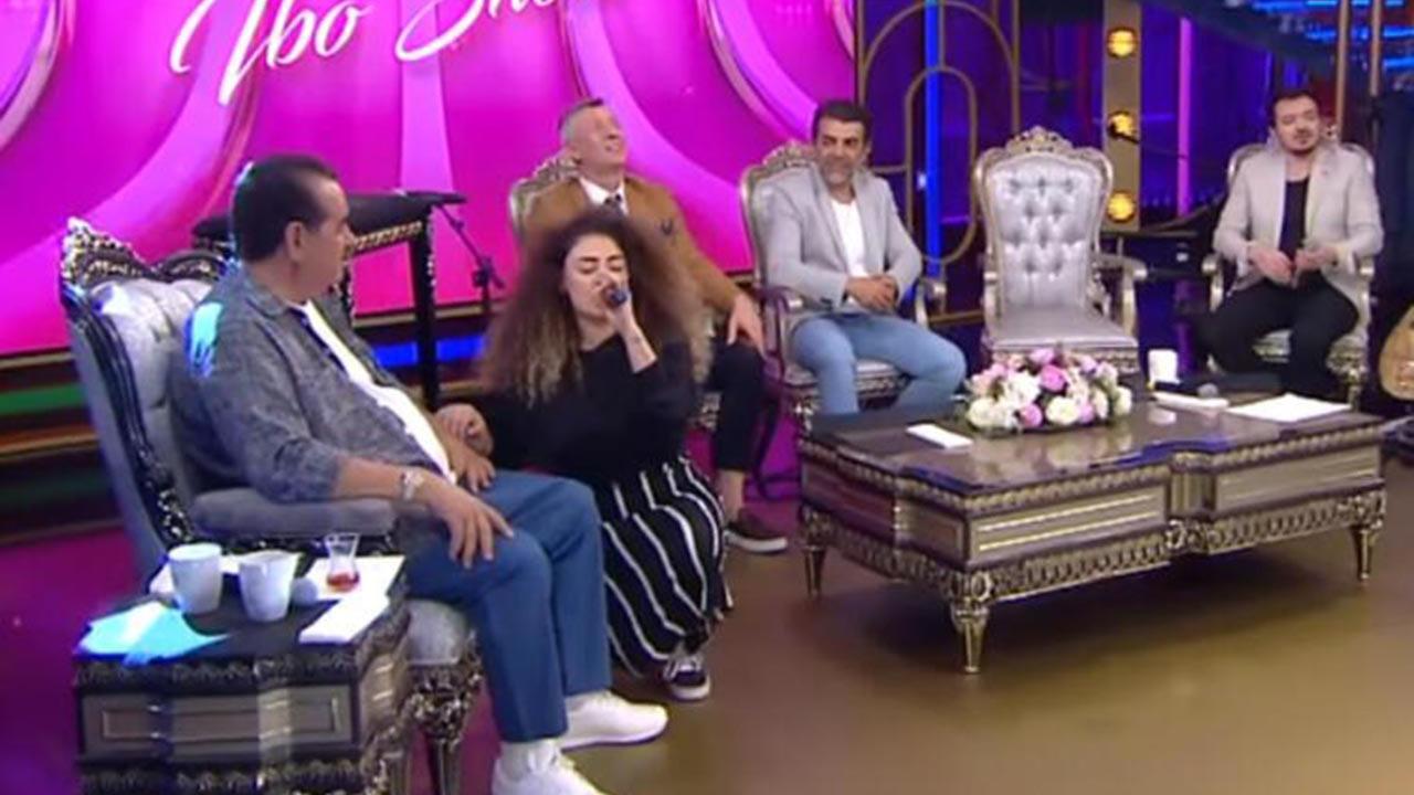 İbo Show'da duygusal anlar! İbrahim Tatlıses'in kızı programa damga vurdu