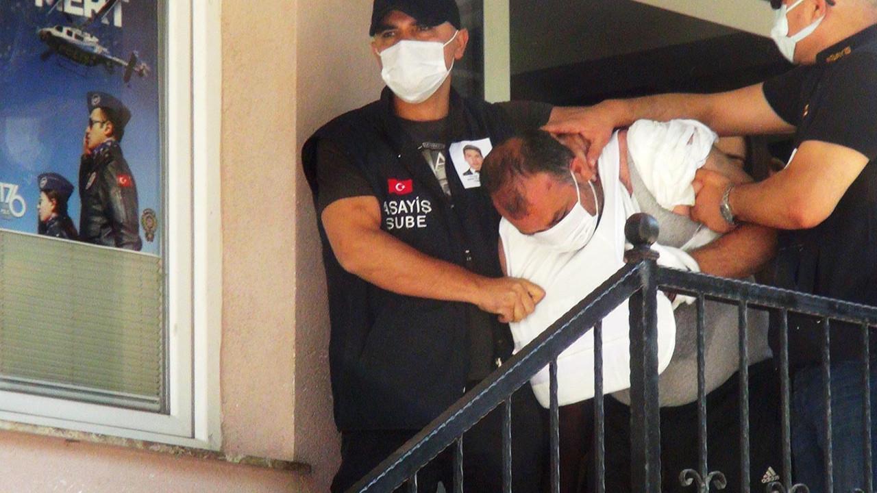 Polis katillerin adliyeye sevkinde dikkat çeken detay
