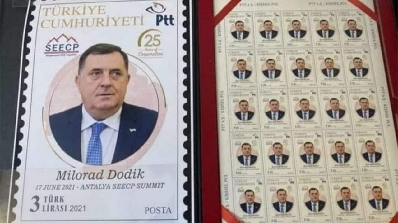 Skandal! PTT puluna bakın kimin resmini bastılar!