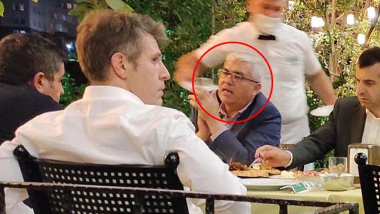 Sezgin Baran Korkmaz ile Yargıtay üyesi aynı masada... Açıklama geldi