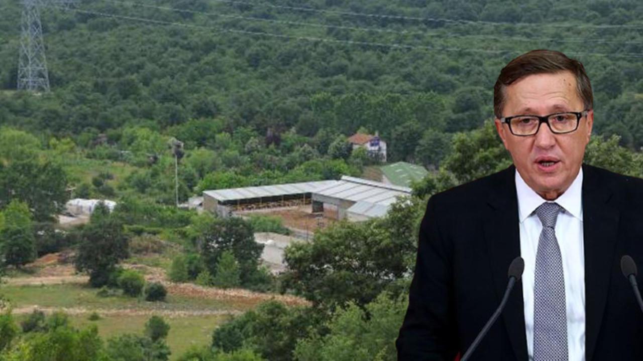 İYİ Partili Lütfü Türkkan'ın çiftliği tahliye ediliyor