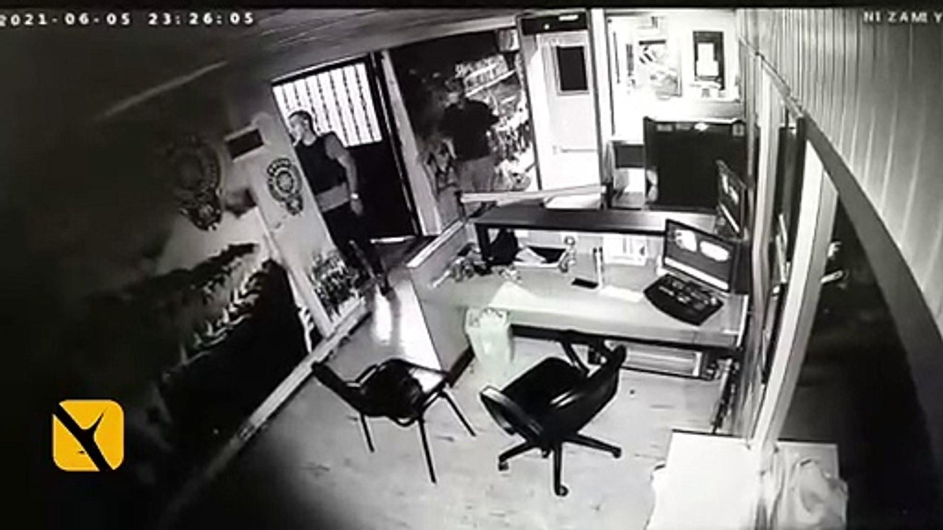 Karakolda şüpheli ölüm: Güvenlik amirinin son görüntüleri ortaya çıktı