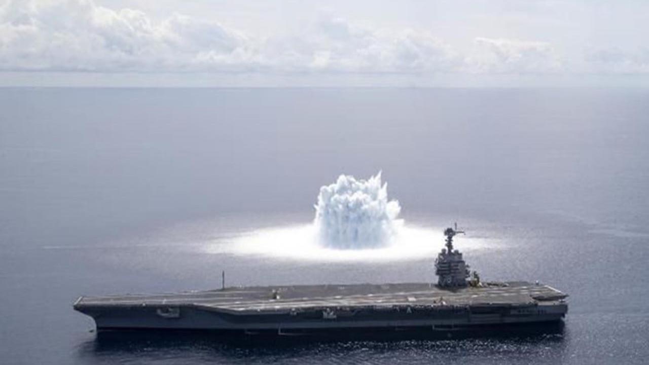 ABD Donanması'nın savaş gemisi testi deprem etkisi yarattı
