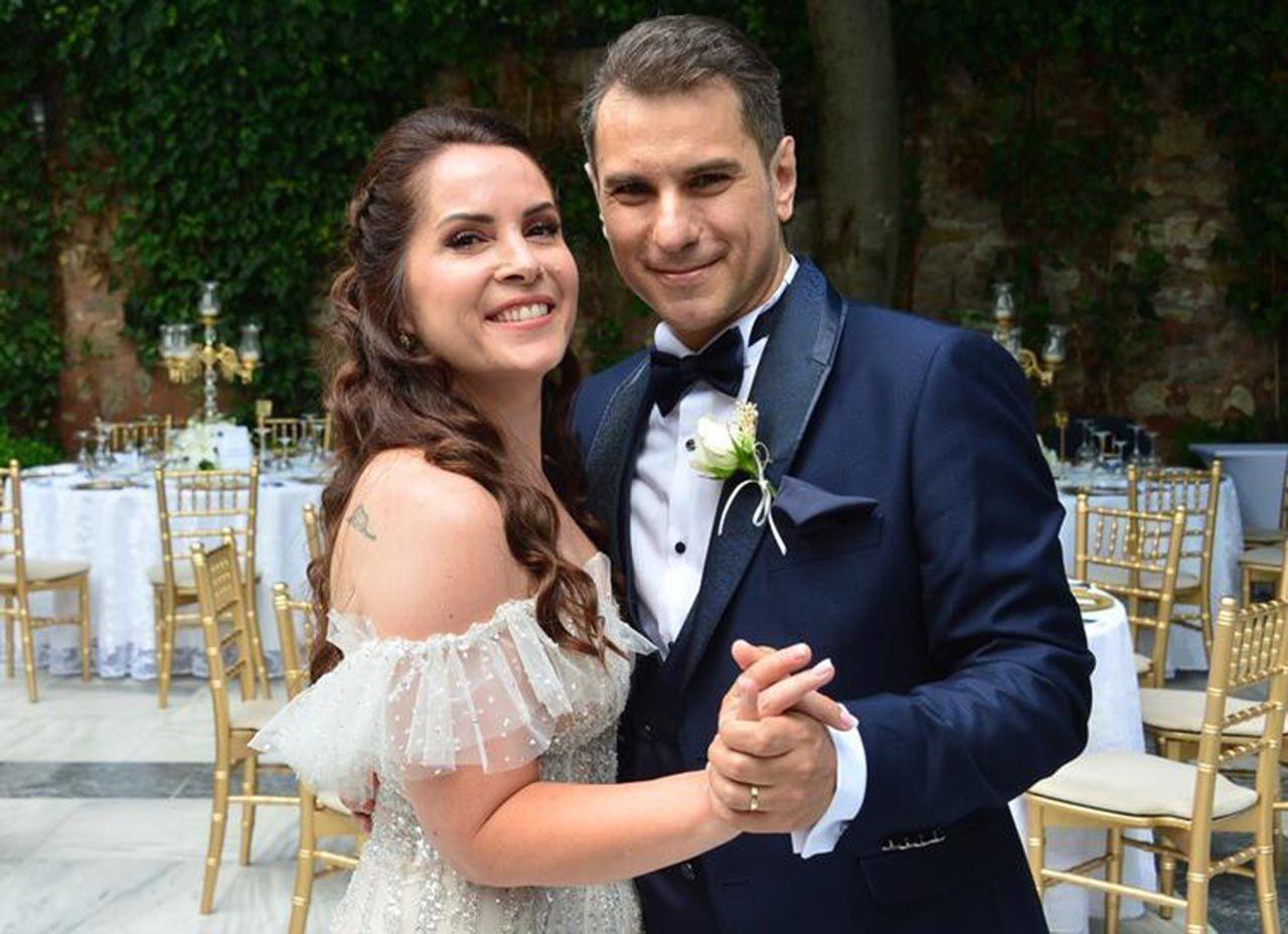 Oyuncu Sevinç Erbulak ve Volkan Cengen evlendi - Resim: 4