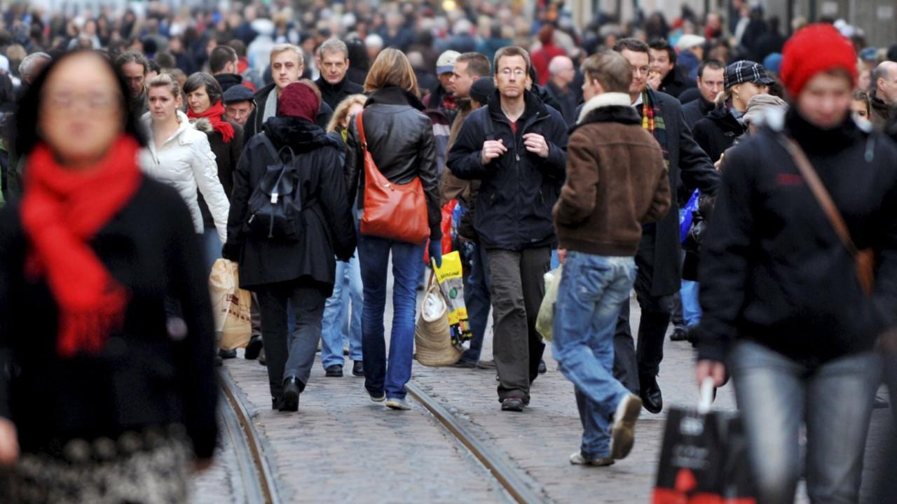 Almanya'nın nüfusu 9 yıl sonra geriledi