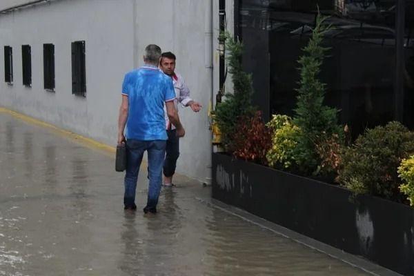 Ankara'da sağanak sonrası iş yerlerini su bastı - Resim: 2