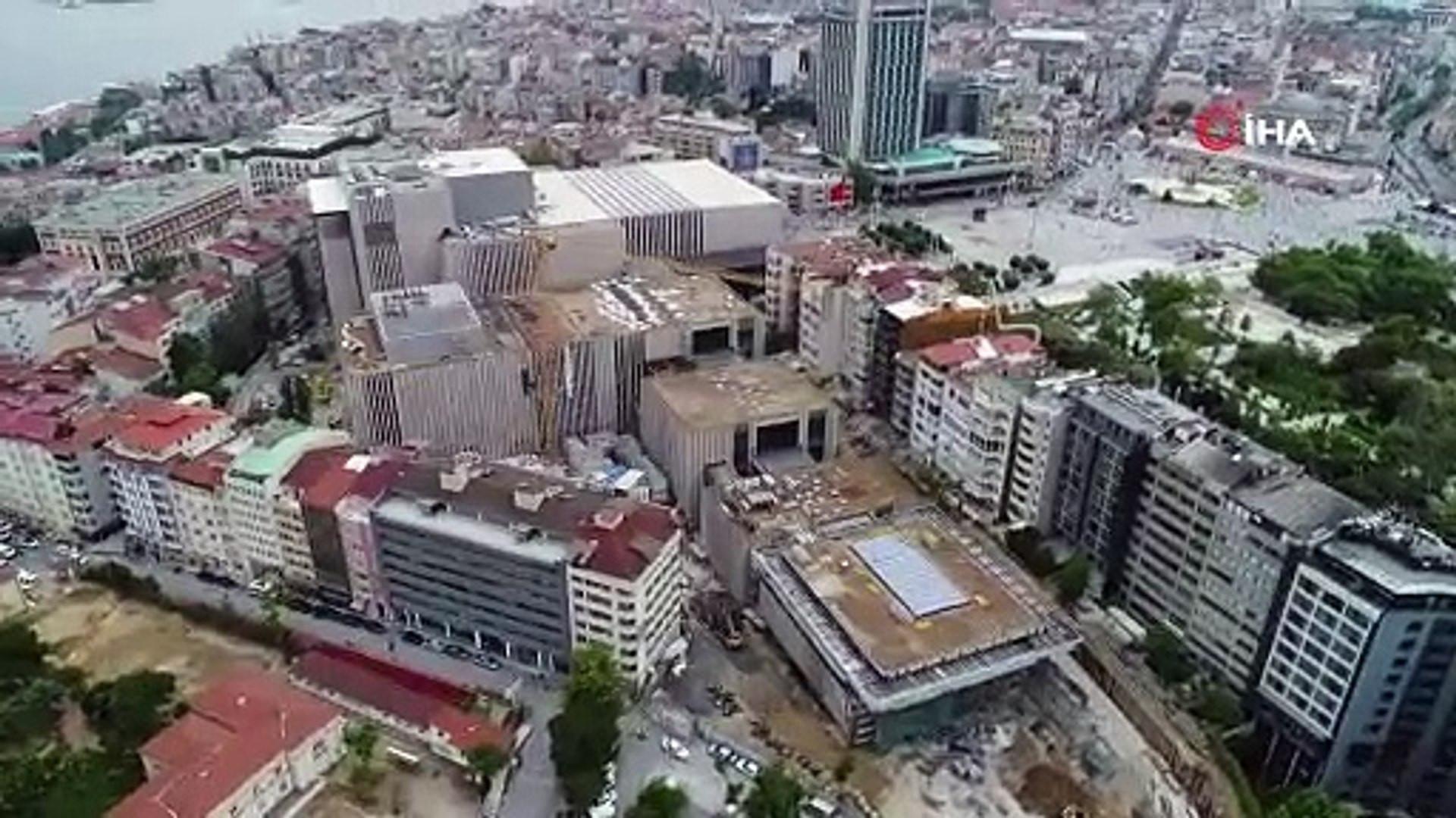 Taksim'in yeni silüeti AKM ile ortaya çıktı