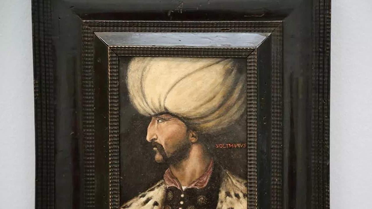 İmamoğlu devreye girmişti... Kanuni Sultan Süleyman Portresi İstanbul'da