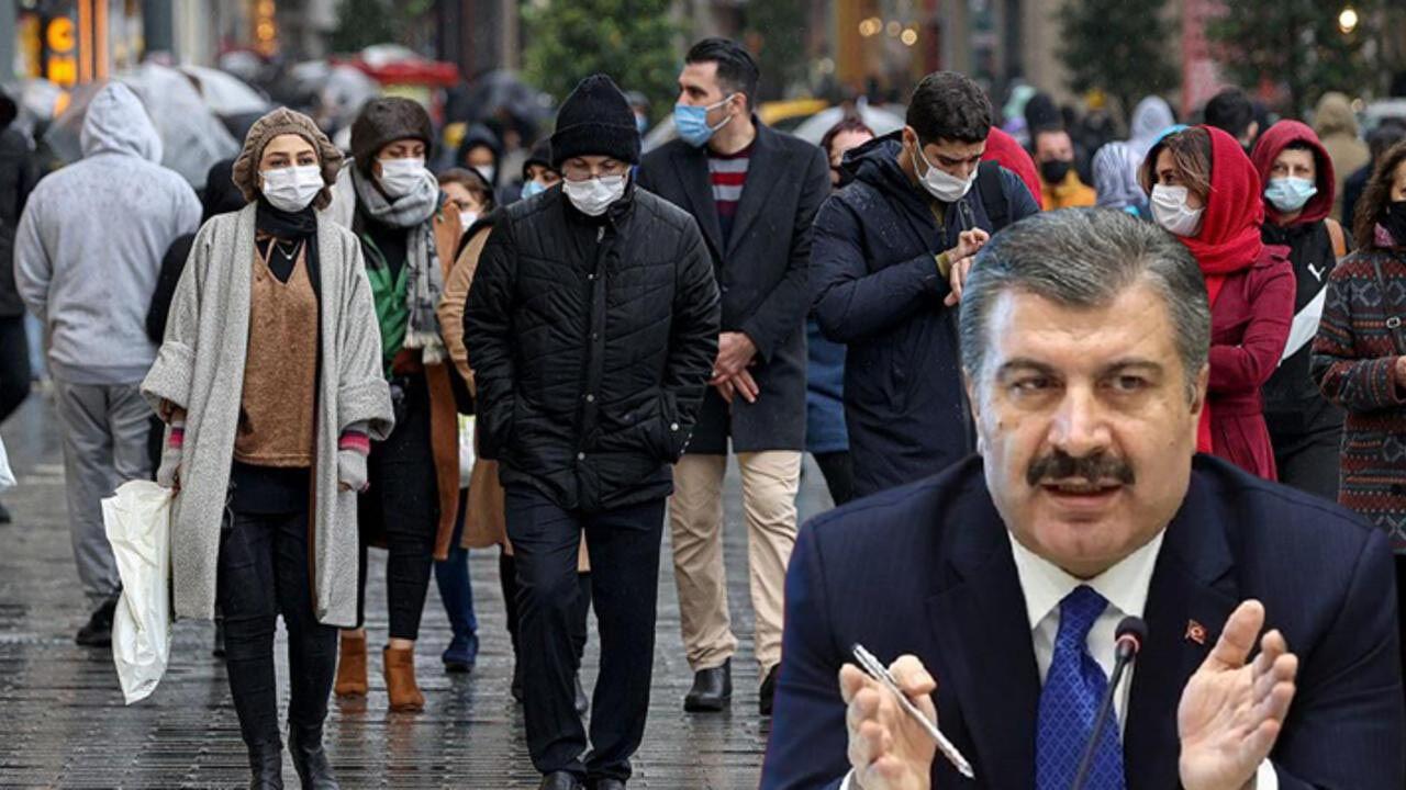 Türkiye'nin güncel koronavirüs haritası yayınlandı