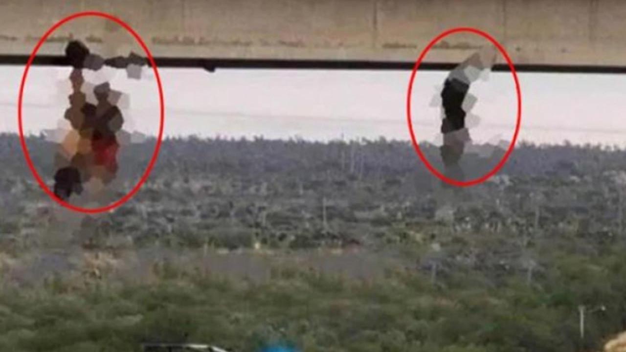 Kan donduran vahşet: Cesetlerini çıplak şekilde köprüye astılar