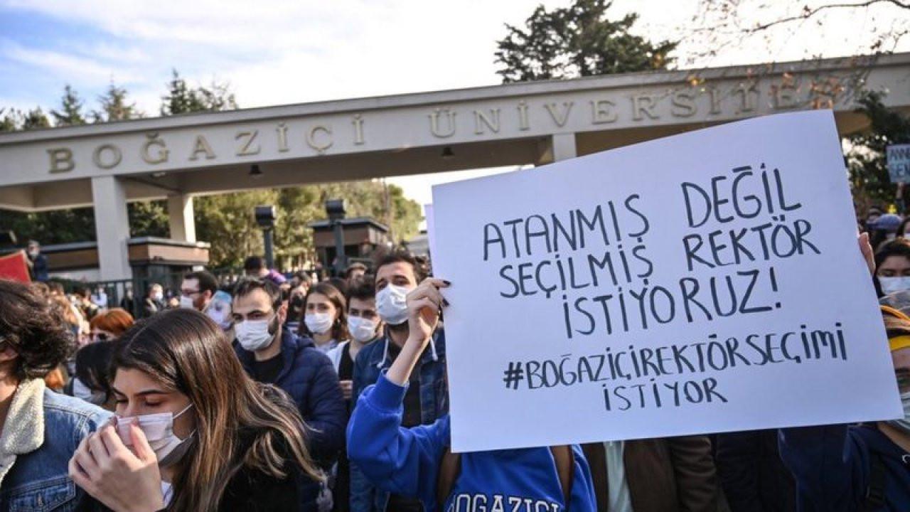 Melih Bulu'yu protesto eden öğrencilerin öğrencilerin bursları kesildi