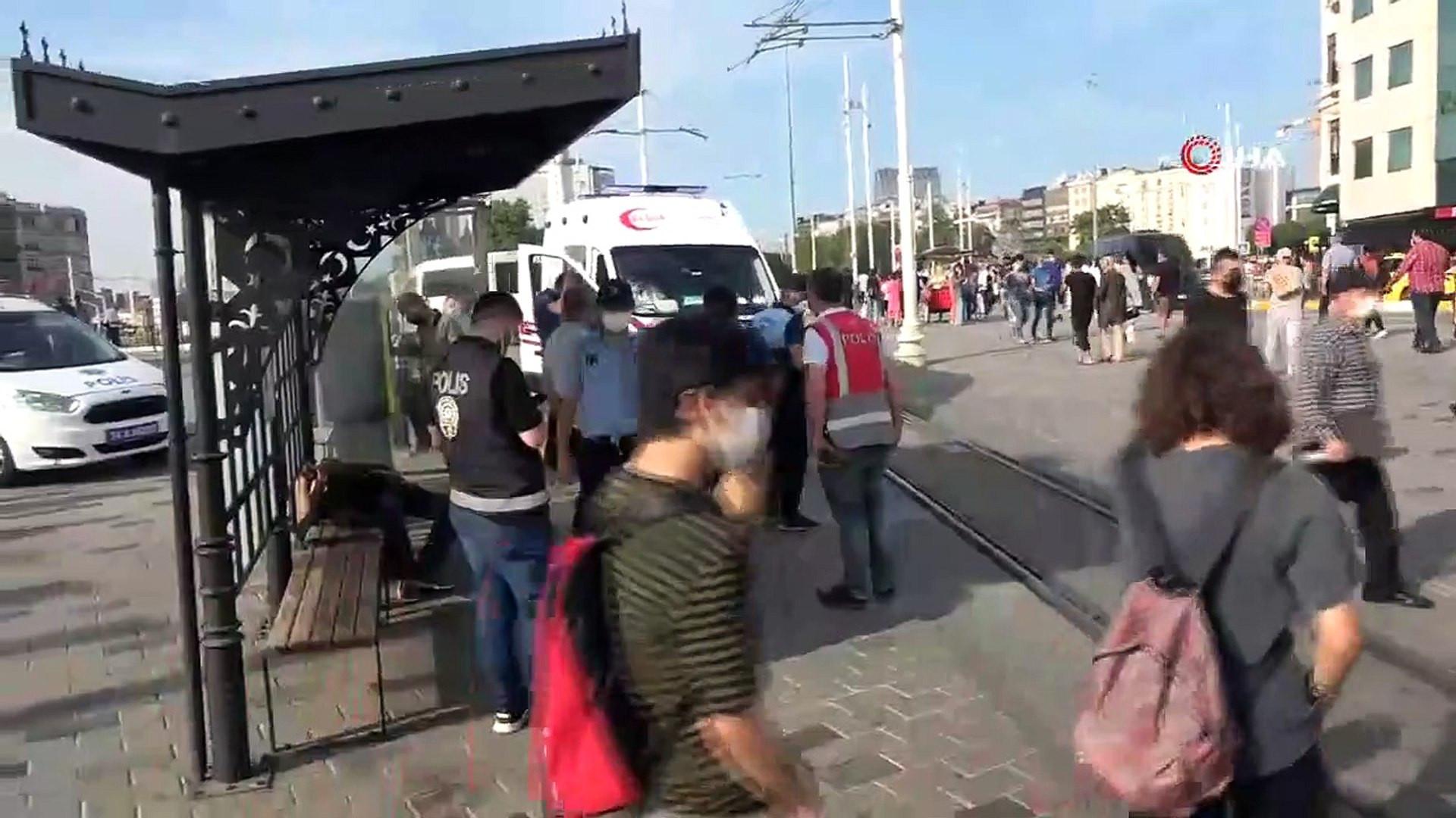 İstanbul'da dehşete düşüren görüntü