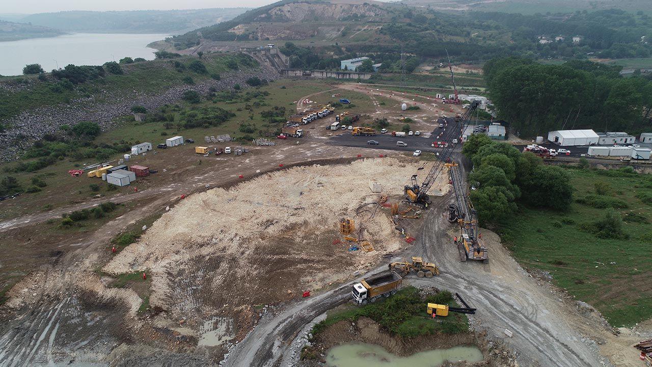 Kanal İstanbul arazisi temel atma törenine 2 gün kala böyle görüntülendi - Resim: 1