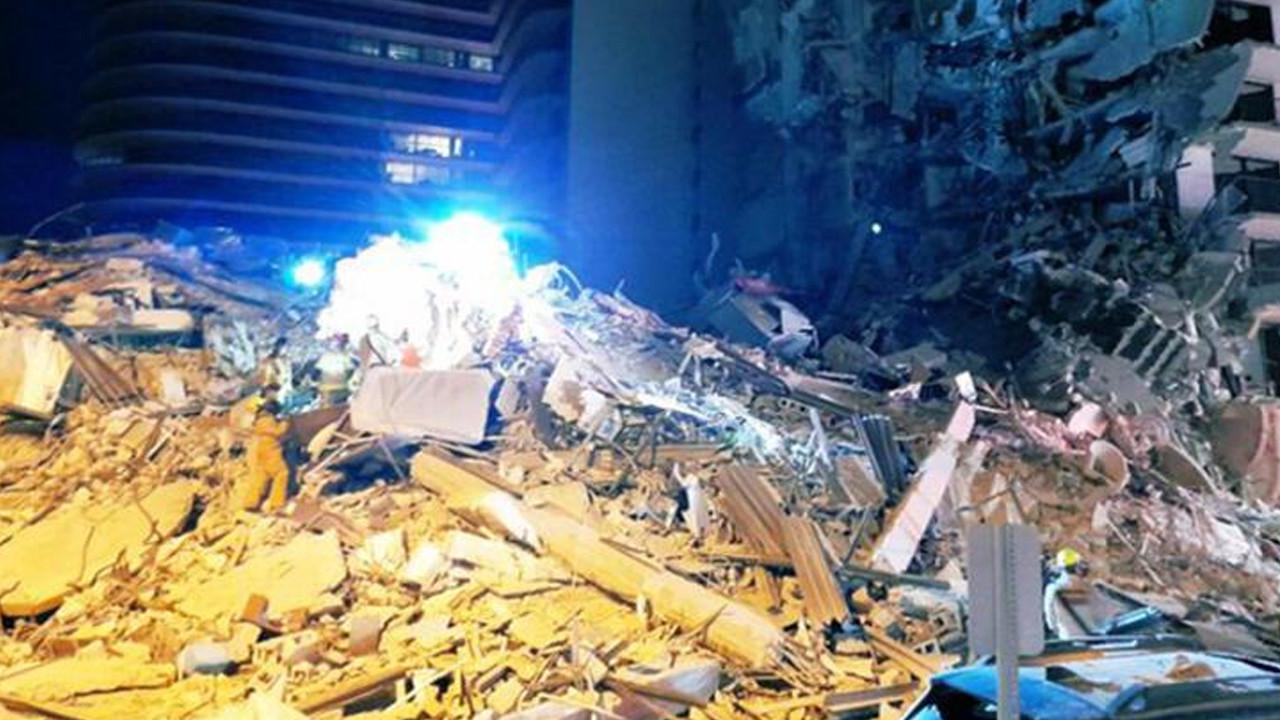 ABD'de facia! 11 katlı apartman çöktü