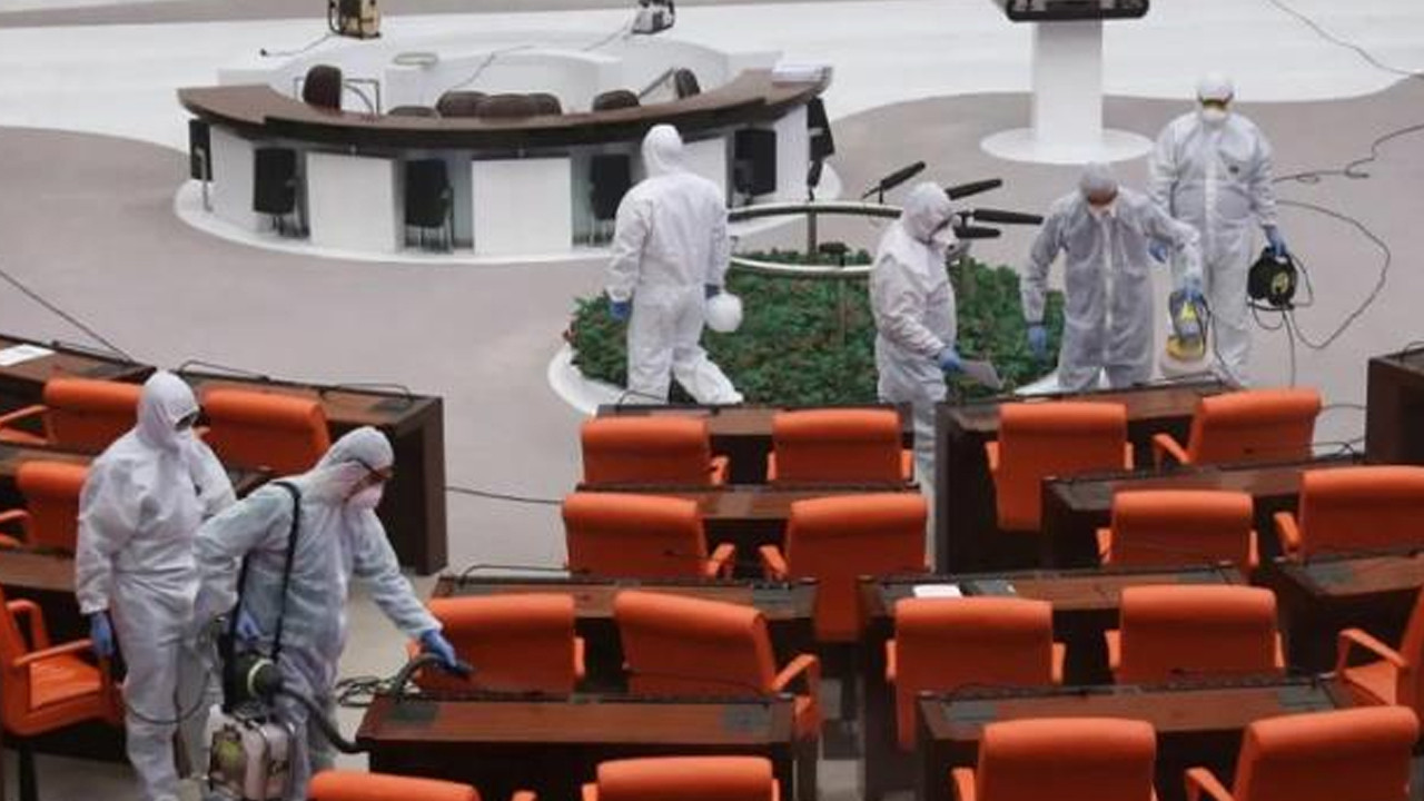 Meclis'te Delta varyantı paniği! 2 kişi karantinaya alındı