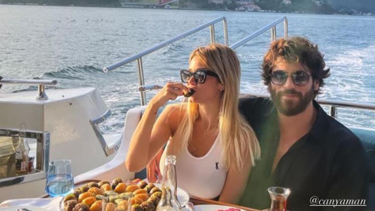Can Yaman'ın İtalyan sevgilisi başörtü takıp poz verdi