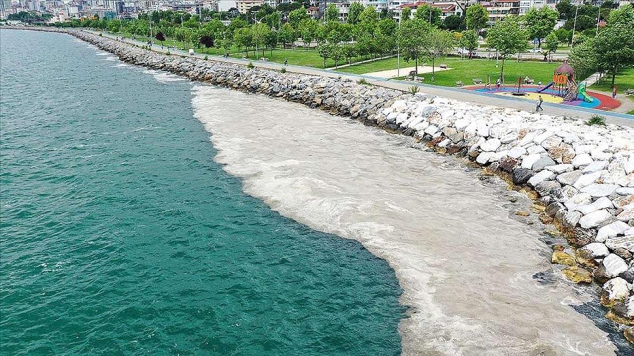 Marmara Denizi'ndeki müsilajın son durumu uzaydan görüntülendi