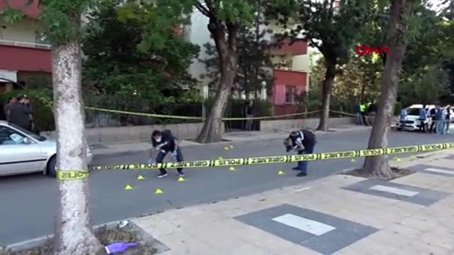 Eşini öldürüp polislerle çatışmaya girdi
