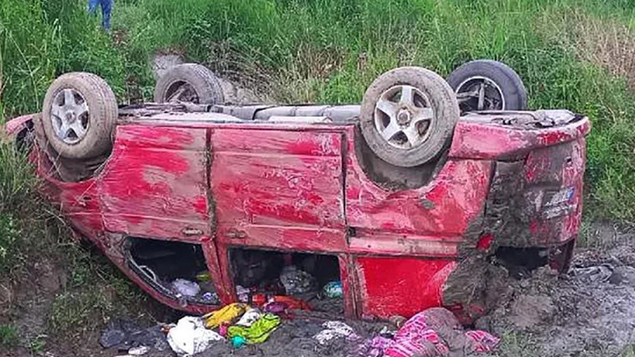 AK Parti milletvekilinin yakınları kaza geçirdi
