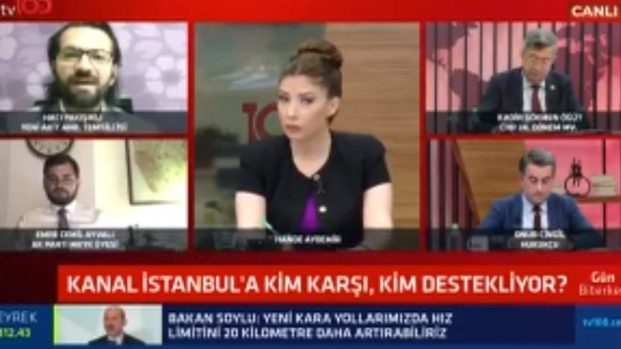 Akit yazarından canlı yayında ''bir garip'' Atatürklü savunma