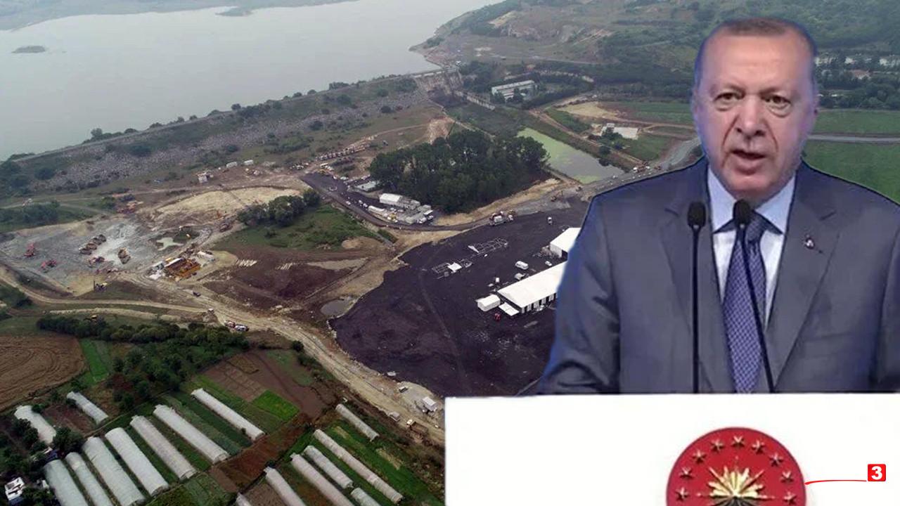 Erdoğan, Kanal İstanbul'un maliyetini açıkladı