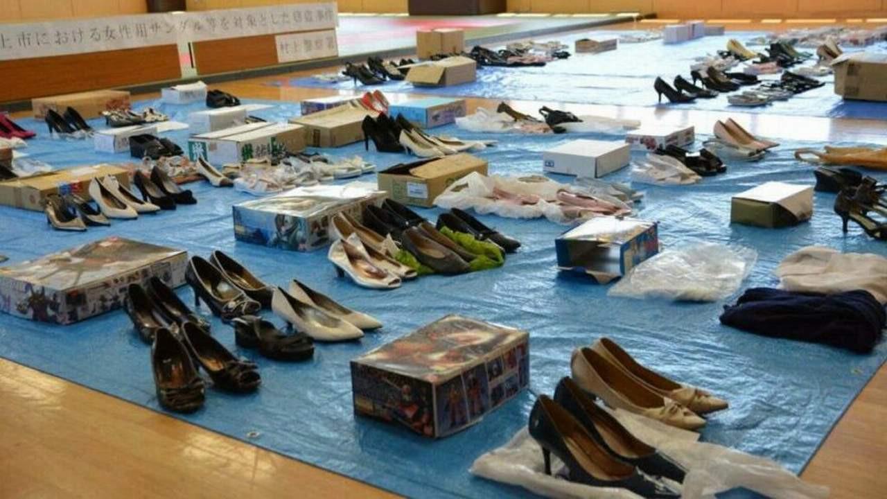 139 çift ayakkabı çaldı, savunması mide bulandırdı