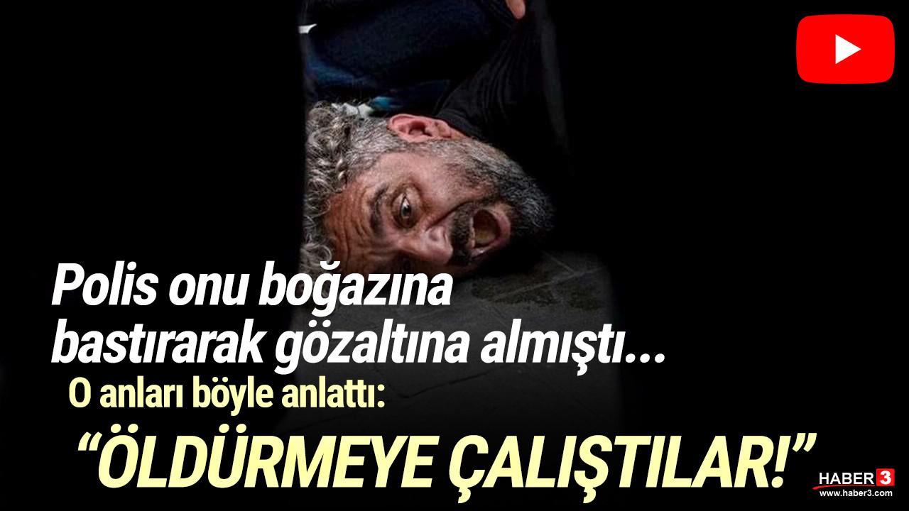 Taksim'de gözaltına alınan gazeteci Bülent Kılıç o anları anlattı