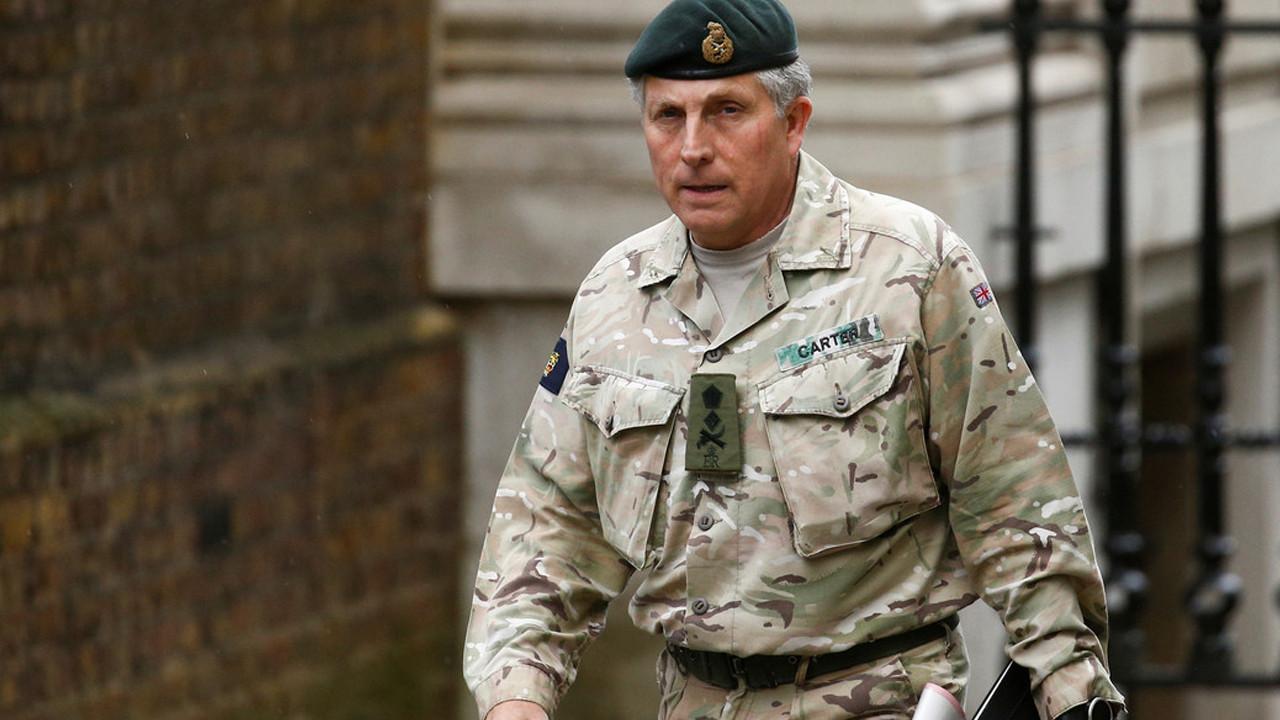 İngiltere ordusunda koronavirüs paniği