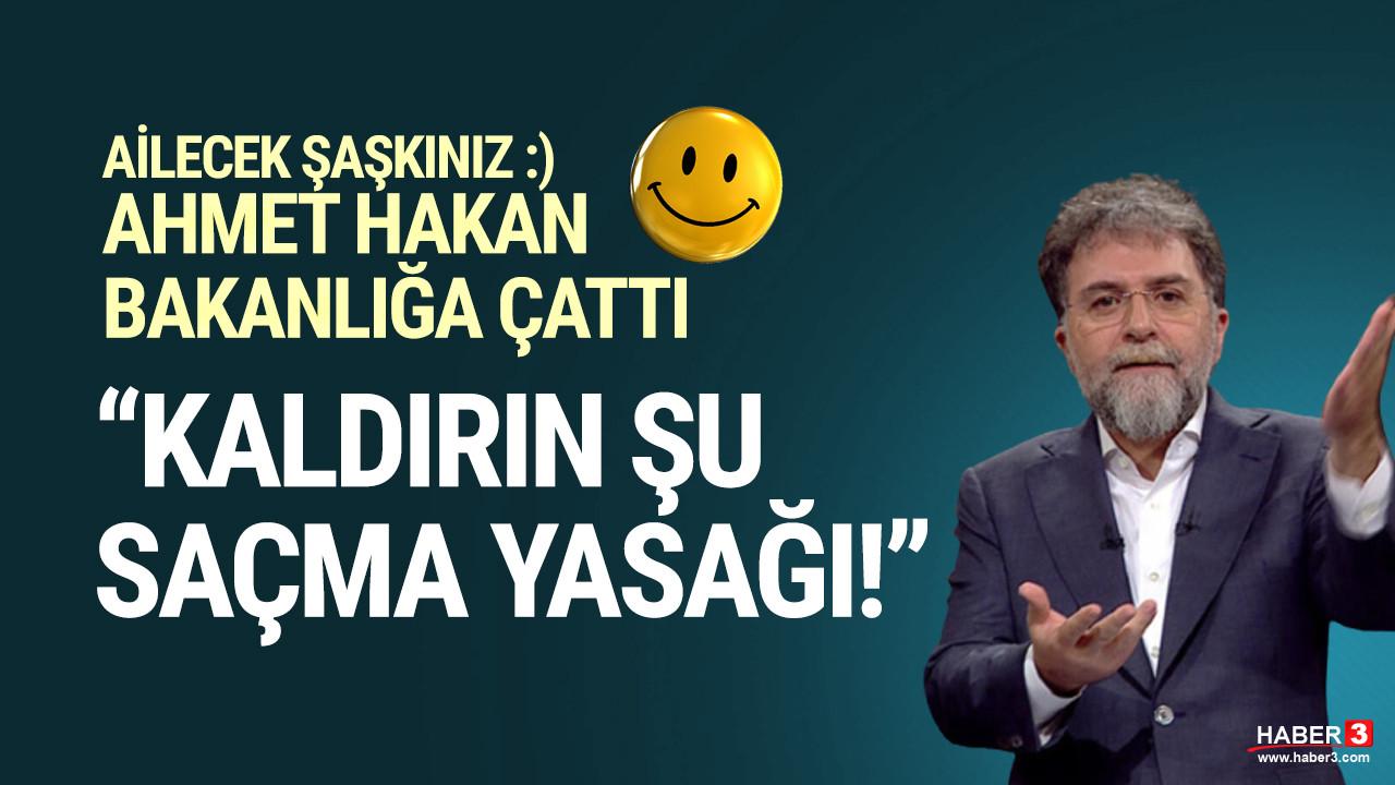 Ahmet Hakan Bakanlığa isyan etti: Bu yanlıştan dönün